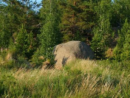 Каменный шар.