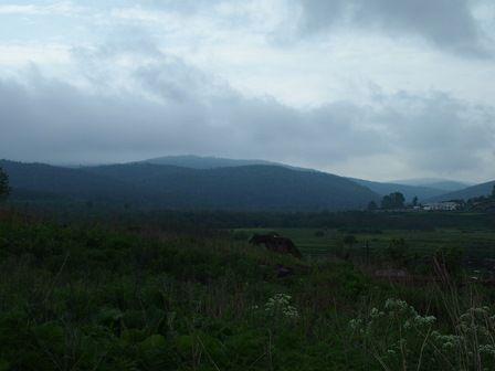 Вид на гору Денежную.